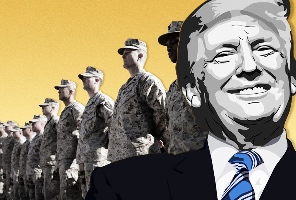 Trump refuses to visit soldiers in combat zones out of fear he'll be killed: report