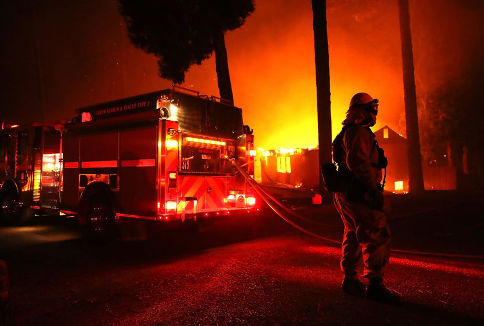 """GOP chairman in Ohio says California wildfires are """"punishment"""" from God"""