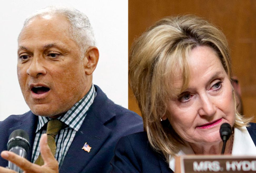 """Race front and center of Mississippi Senate run-off after Hyde-Smith's """"public hanging"""" comments 