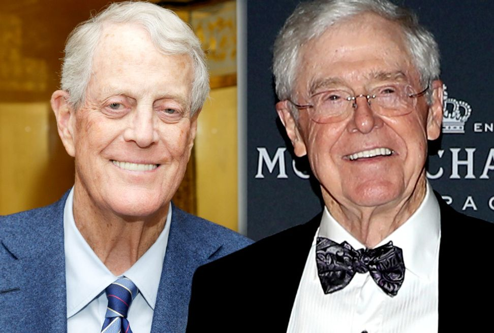 Koch brothers are watching you: And new documents reveal just how much they know | Salon.com