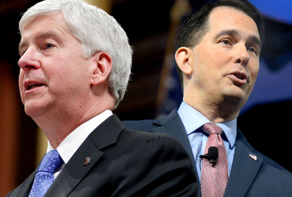 Protests erupt as Wisconsin GOP attempt to disempower Democrats following Scott Walker's loss