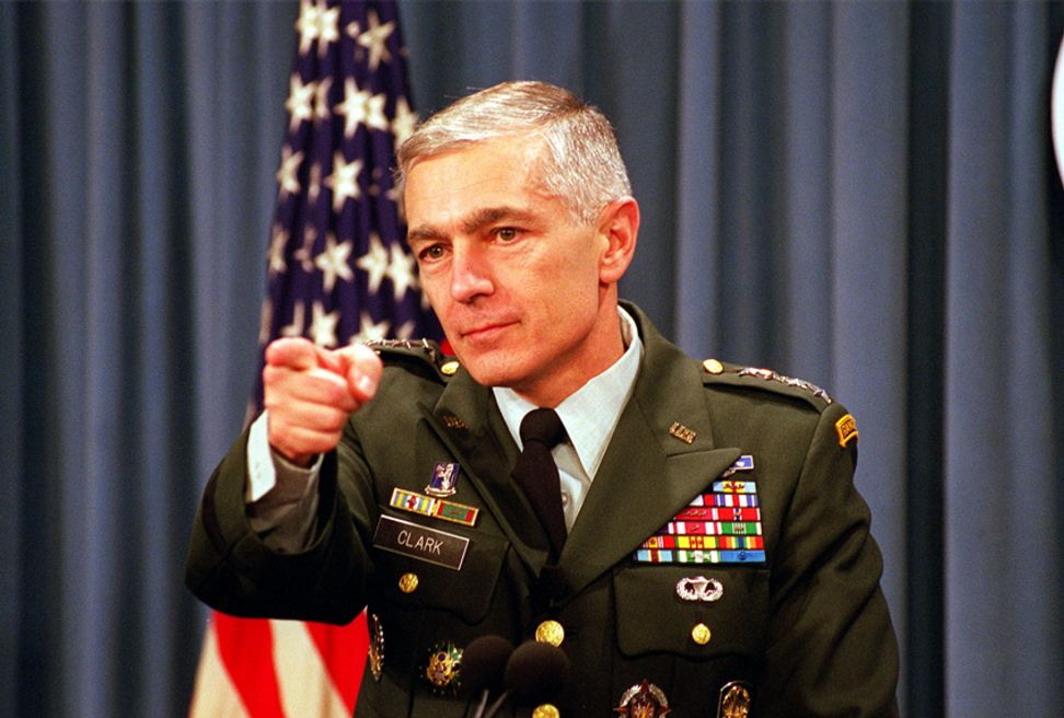 Gen. Wesley Clark asks if Trump was blackmailed into pulling out of Syria