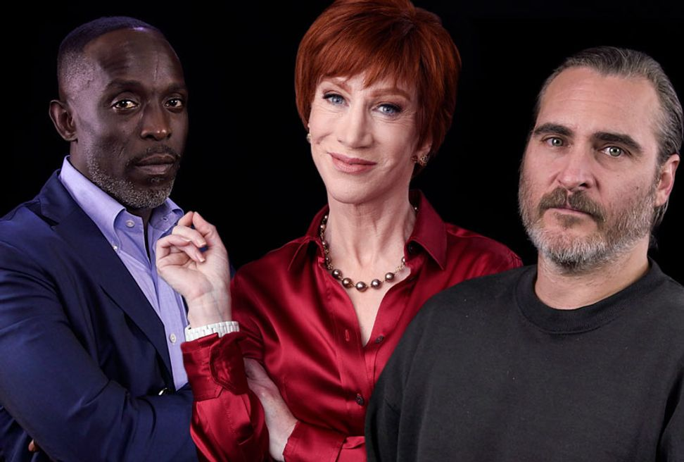 Kathy Griffin, Joaquin Phoenix and more offer the best advice for 2019