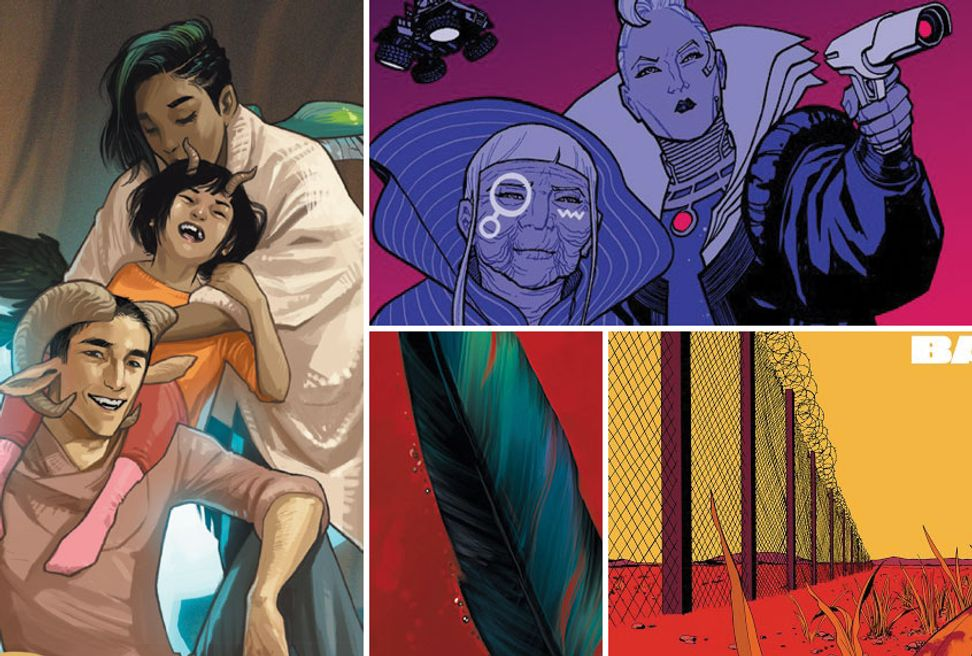 """Comics author Brian K. Vaughan on his global hit """"Saga"""" and making art in troubled times"""
