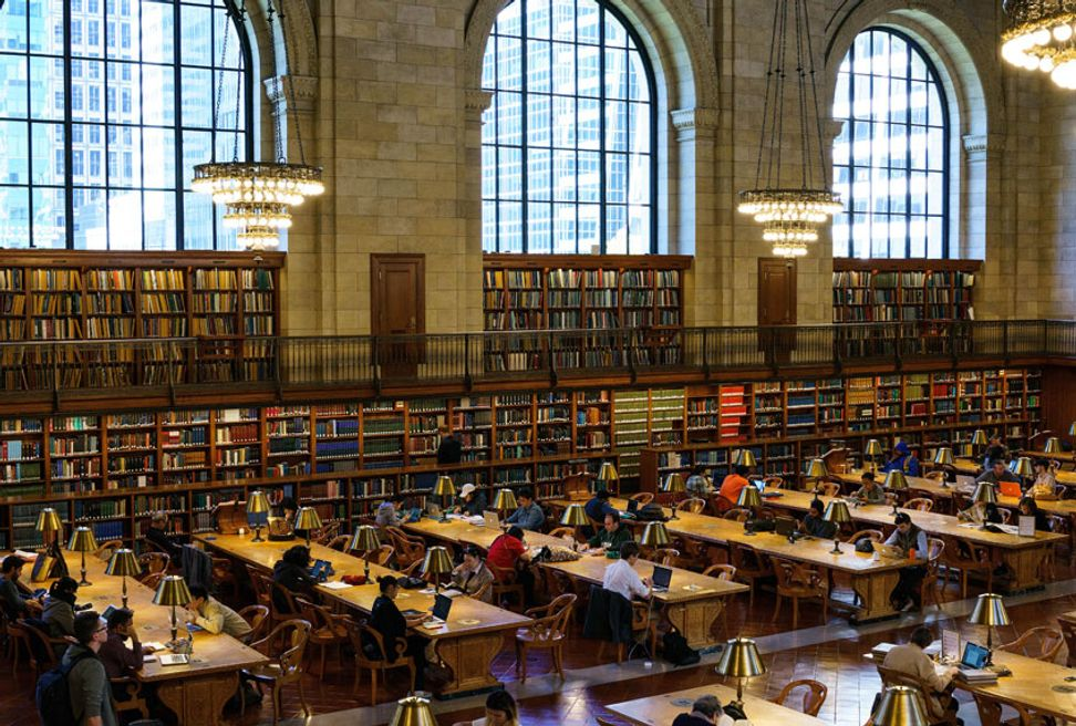 One easy New Year's resolution to help save democracy in 2019: Go to the library