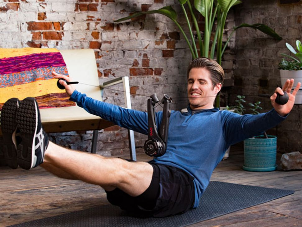 Get your exercise anywhere with this portable gym