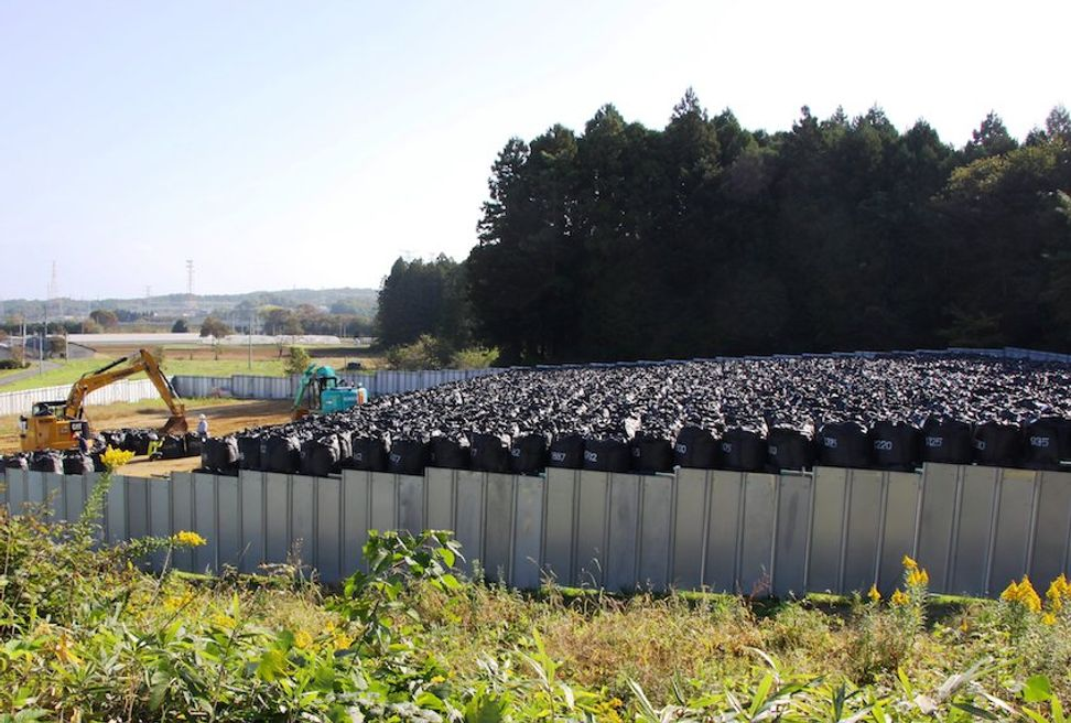 Fukushima residents return despite radiation